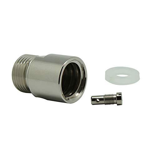 ZHENWOFC Adapter konvertiert Soda Stream SodaStream Club CO2-Zylindertank T21-4 in W21.8-14 Hardware-Ersatzteile