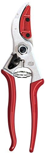 Felco 11510063 11510063-Felco 4ch ESP.Flores-pod.1 mano-10mm, Argent/Rouge