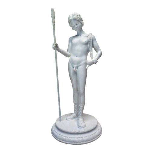 Design Toscano Dionysos, Griechischer Fruchtbarkeitsgott: Marmor-Kunstharz Statue