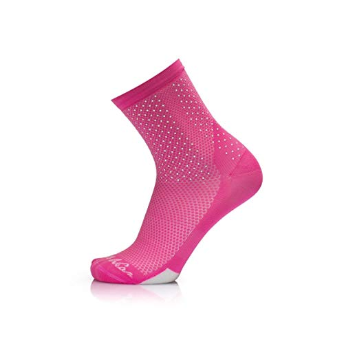 MB Wear Chaussettes Reflective-Rose-L/XL (41-46) Mixte Adulte, FR : L (Taille Fabricant