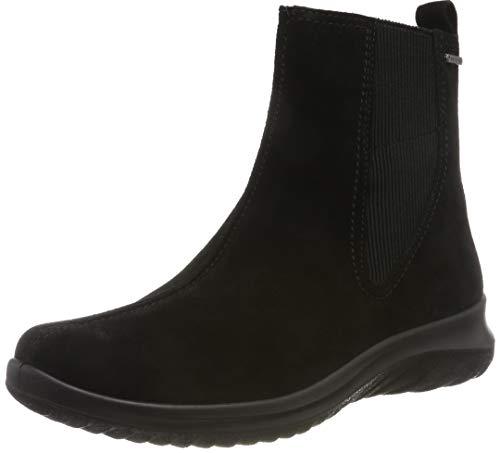 Legero Damen Softboot 4.0 Warm Gefütterte Gore-Tex Hohe Sneaker, Schwarz (Schwarz 00), 38 EU (5 UK)