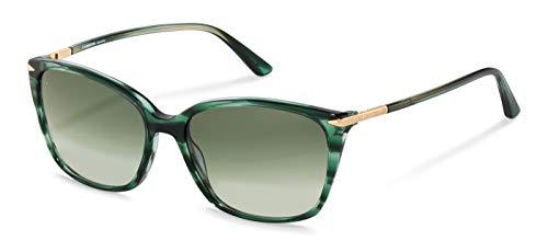 Rodenstock Sonnenbrille La Classica Sun R3320 (Damen), leichte Sonnenbrille, Sonnenbrille in Cateye-Form aus hochwertigem Acetat