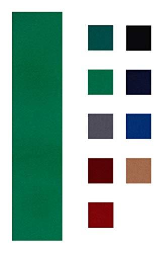 Accuplay 19 oz Grade Pool Table - Billiard Cloth - Felt for an 8 Foot Table English Green