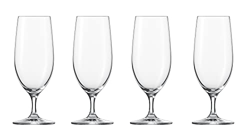 Schott Zwiesel 121280 Classico Pilsgläser, Glas, transparent