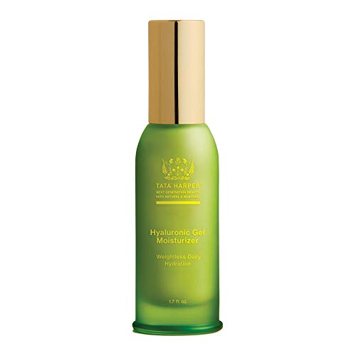 Tata Harper Hyaluronic Gel Moisturizer, Lightweight Daily Hydrator, 100% Natural, Made Fresh in Vermont, 50ml