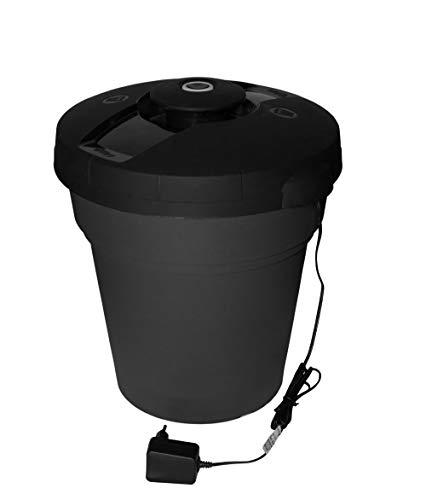 Contenedor de basura eléctrico al vacío, elimina el oxígeno, no más olores...