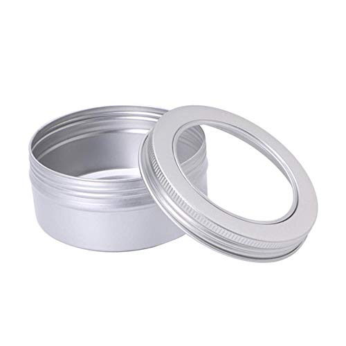 AOM Vide en Aluminium Crème Pot Étain Cosmétique Baume À Lèvres Conteneurs Nail Dérocation Artisanat Pot Bouteille Vis Fil W5, E, États-Unis