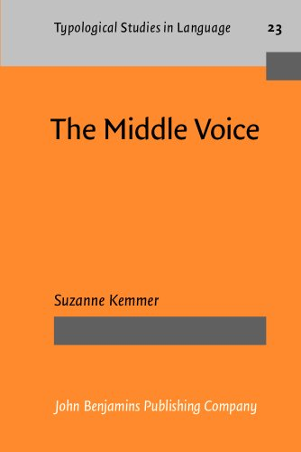 The Middle Voice (Typological Studies in Language)