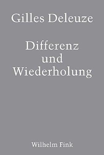 Differenz und Wiederholung: Aus dem Französischen von Vogl, Joseph