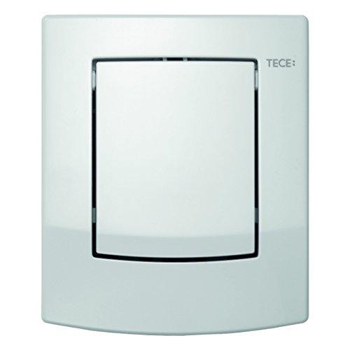 TECE ambia Betätigungsplatte für Urinal (Farbe weiß, inklusive Kartusche, Spülmenge verstellbar, Mindestfließdruck 0,5 bar) 9240833
