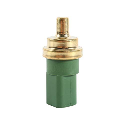 Qiilu temperatuurmeter sensor, koelvloeistof temperatuursensor waterschakelaar 4Pin voor Jetta Golf Beetle/A4 A6