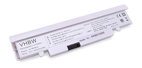 vhbw Batterie LI-ION 6600mAh 7.4V pour Samsung NC110, NC210, NP-NC110, NP-NC210. Remplace AA-PBPN6LB, AA-PBPN6LS, AA-PBPN6LW, AA-PLPN6LB etc.