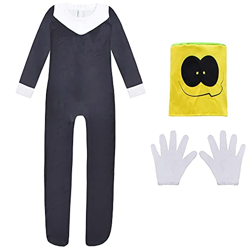 Friday Night Funkin Spooky Month Costumes for Kids Boyfriend Whitty Skid and Pumb Halloween Cosutme Cosplay Jumpsuit