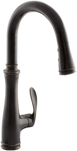 KOHLER K-560-2BZ Bellera Kitchen Faucet, Oil-Rubbed Bronze