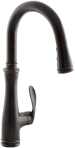 Product Image of the KOHLER K-560-2BZ Bellera Kitchen Faucet, Oil-Rubbed Bronze