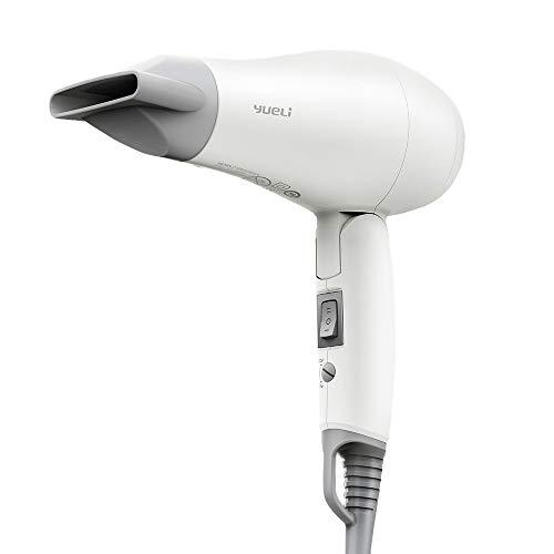 Power Folding Handle Hair Dryer Dual Voltage Home Travel Protection De Contrôle De Décalage À Deux Vitesses