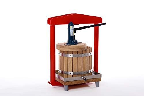 Prensa hidráulica GBP-12, para manzanas, uvas, bayas, frutas, vino, sidra