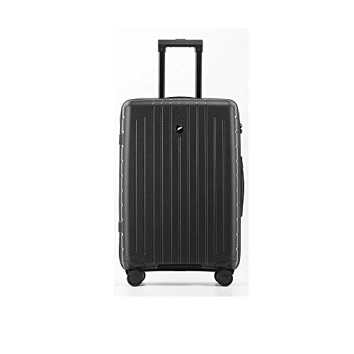 LRHD Portable Dirt-resistant Luggage, PP 4-wheel Aluminum Alloy Tie-rod Luggage, 26-29-inch 70-95L Frosted Scratch-resistant Luggage, Suitable for Travel, Business, Blue