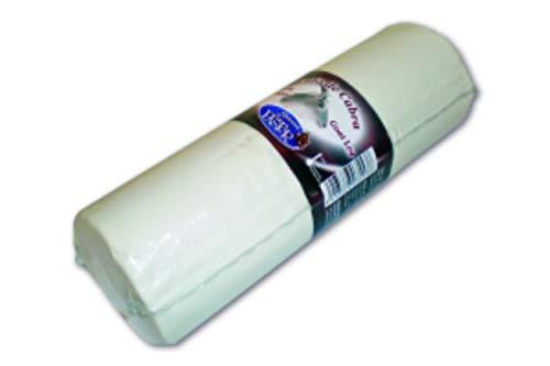Rulo de cabra sin penicillium - 1 Kg, perfecto para utilizar en ensaladas, pastas, pizzas o para untar.