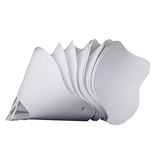 Greatangle Paint Spray Gun Filter Paper Thick Paper Filter 3D Printer Parts Accessories Filament Filter Paper Funnel white