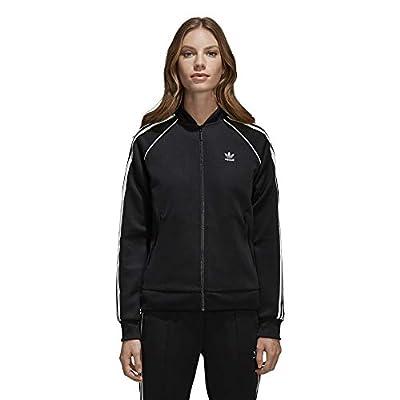 adidas Women's Superstar Tracktop, Black, XL