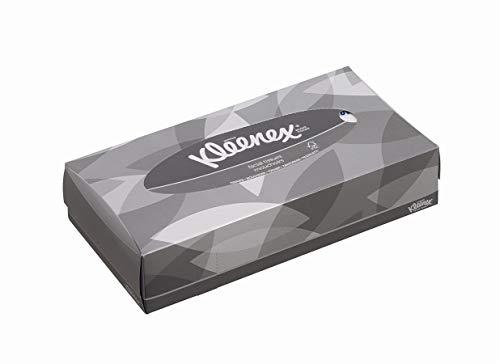 Kleenex Kosmetiktücher 8835 - Kleenex Box -21 x 100 Papiertaschentücher - weiß, 2-lagig