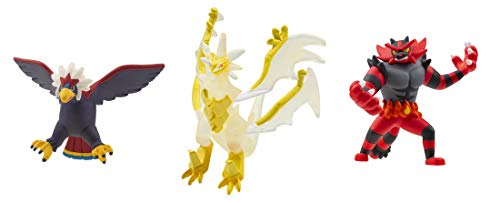 TAKARA TOMY Pokemon Monster Collection Moncolle Battle Strongest Set Vol. 1 Ultra Necrozma Incineroar Braviary