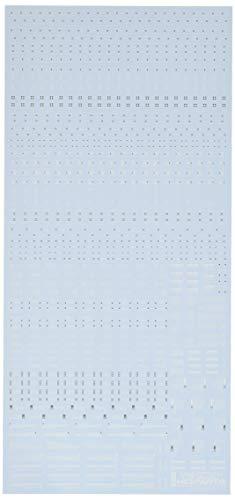 ハイキューパーツ 1/100 ホワイト&グレー RB01コーションデカール (1枚入)