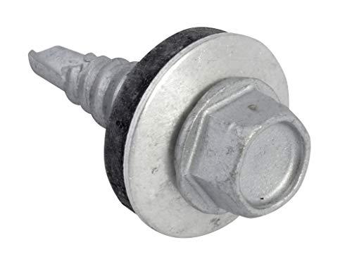 FORTFHS6322 TechFast Hex Head Stitching Screw Self Drill 6.3x22mm Pack 100