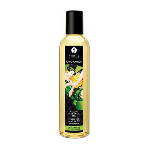 Shunga Erotic Massage Oil - Organica / Green Tea by Shunga Erotic Art