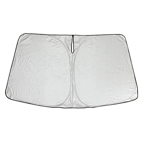 YFBB Parabrisas de Coche, Bloques de Parasol, Rayos UV, Protector de Visera, Parasol Plegable, para Tesla Model 3 2017-2022