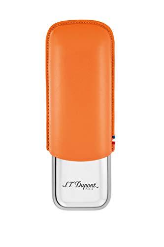 S.T. Dupont S.T. Dupont Double Cigar Case (Orange)