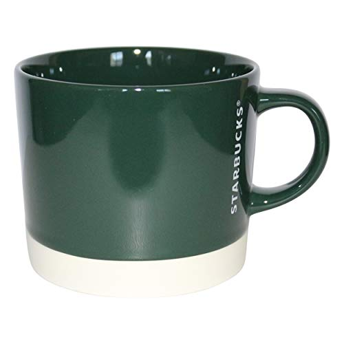 Starbucks - Taza, diseño de calaveras, color verde y blanco