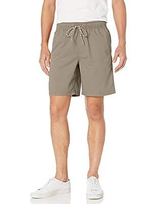 "Amazon Essentials Men's 8"" Inseam Drawstring Walk Short, Khaki, X-Large"