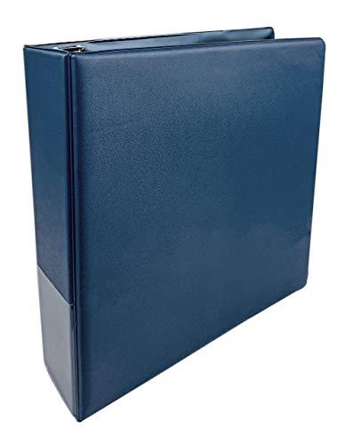 Arkero-G® 3-Ring Collectors Album Blau / Blue - Sammelalbum für Ordner-Seiten z.B. für Magic, Pokemon, Fortnite, Lego Ninjago, Match Attax Karten