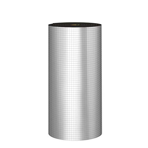BBGS Tapis Isolant Insonorisant, Panneau Isolant de Papier D'aluminium de Mur Extérieur de Laine D'isolation de Véranda de Toit Anti-brûlure de 10m (Color : 10mm Thickness)