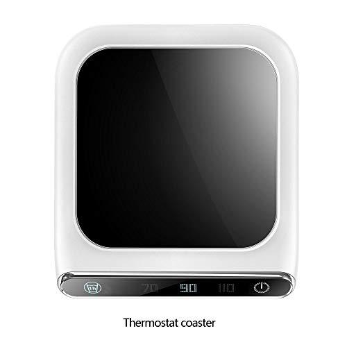 NoNo Intelligent temperatuurapparaat coaster, verwarming Coaster Tray, USB-koffiewarmer, elektrische kopjesverwarmer, pad, voor thee, koffie, melk, kantoor, thuis