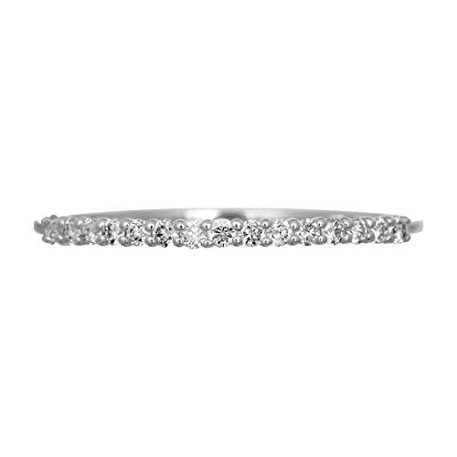 [ココカル]cococaru エタニティ ダイヤモンド リング プラチナ900 品質保証書 金属アレルギー 日本製(20)
