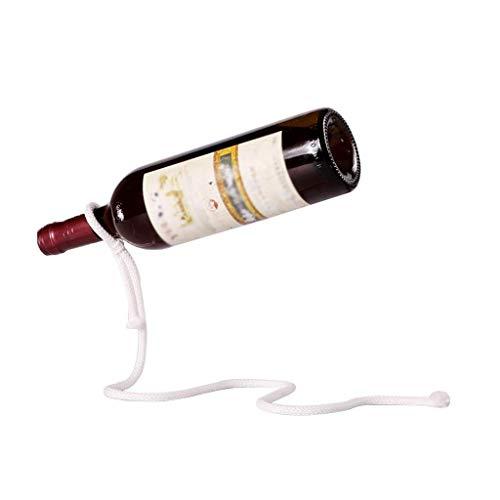 Estante de vino Estante de vino Decoración creativa constante Decoración de la botella de hogar Visualización vacía 32 x 16,5 cm, bastidores de vino Coloque el estante para el almacenamiento de vinos
