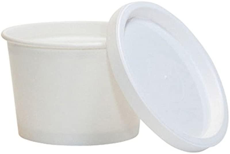 4 Oz Paper Cup Flat Lids 1 000 Case
