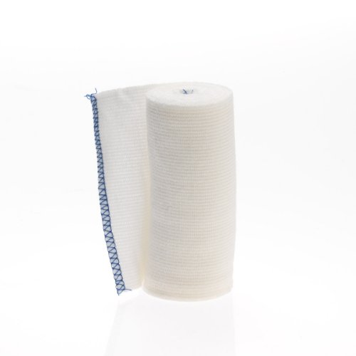 Medline MDS077004Z Swift-Wrap Elastic Bandages, Latex Free, Non Sterile, 4' x 5 yard, White (Pack of 20)