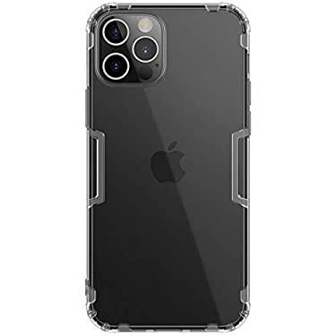 """Nillkin Case for Apple iPhone 12 Pro Max (6.7"""" Inch) Nature Series Back Soft Flexible TPU Grey Color"""