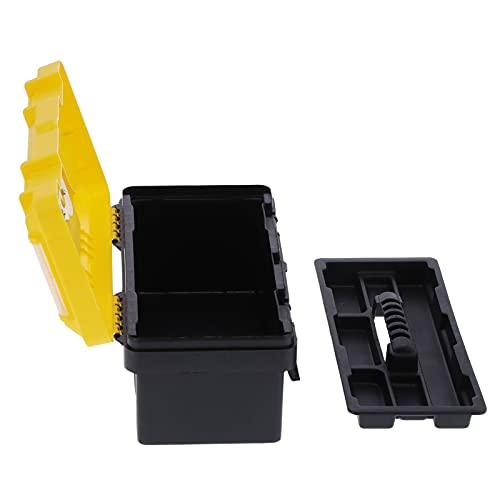 Caja de herramientas con mango antideslizante, caja de herramientas Estuche de almacenamiento con mango portátil para uso personal para la familia para uso profesional