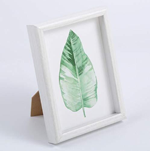 Fotolijst, hardboard, plexiglas fotolijsten, 7 inch, kunnen groothandel zijn,White,S