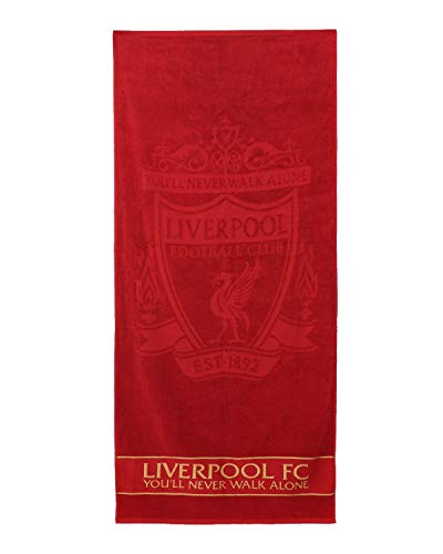 FC Liverpool LFC Strandtuch 70x150cm (one Size, red)