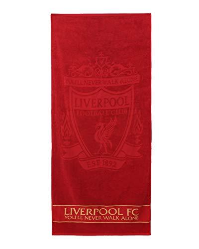 FC Liverpool Telo mare LFC 70 x 150 cm (taglia unica, rosso)