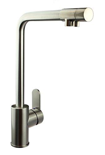 Massive Edelstahlarmatur Model KS – B019 für Küche und Bad mit Wasserfilter von Viborg - HK