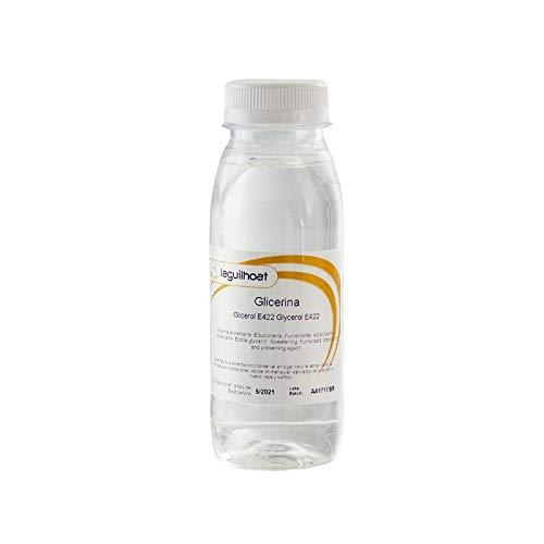 Glicerina - 250 ml - Uso alimentario - Humectante - Estabilizante - Conservante - Edulcorante
