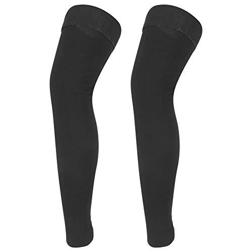 Naroote 【𝐅𝐫𝐮𝐡𝐥𝐢𝐧𝐠 𝐕𝐞𝐫𝐤𝐚𝐮𝐟 𝐆𝐞𝐬𝐜𝐡𝐞𝐧𝐤】 Druck Lange Strümpfe, Bein(Nine-Point Stockings (Black), XXL)