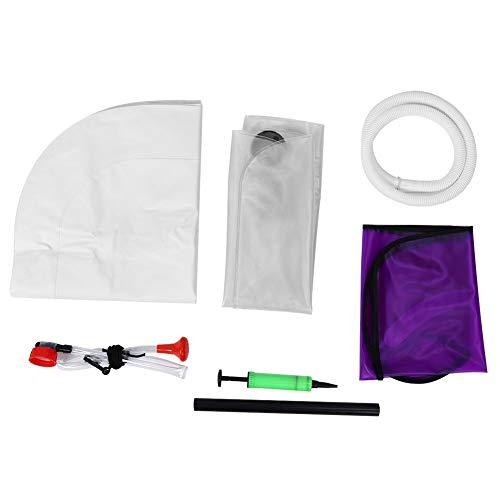 BLLBOO Aufblasbare Shampoo Basin Kit for senioren Behinderte Haarwäsche Werkzeug
